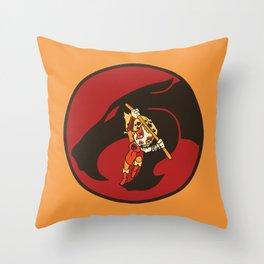 Eighteen generation Cheetara Throw Pillow
