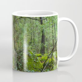 Deep in the green forest Coffee Mug
