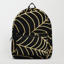 Spiderweb | Gold Glitter Backpack