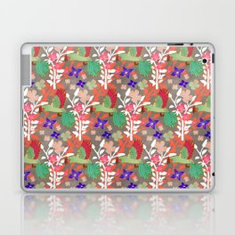 Guacamayas (Macaws) - (red.peach.green) Laptop & iPad Skin