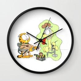 Don't Cross the Streams Wall Clock