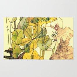 "Charles Rennie Mackintosh ""Flowers & Plants"" (5) Rug"