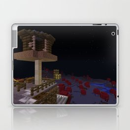 Mushroom House Laptop & iPad Skin