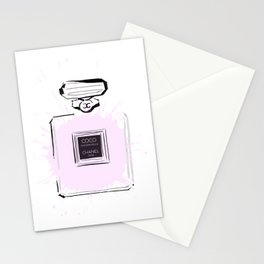 Pink Perfume 2 Stationery Cards