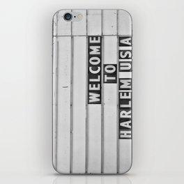 Welcome to Harlem iPhone Skin
