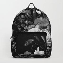 Still Life #2 Black & White Backpack