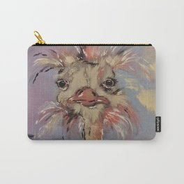 Odetta the Ostrich Carry-All Pouch
