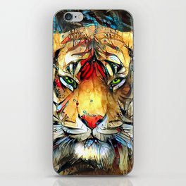 Fantazi (Tiger is Not Amused II) iPhone Skin