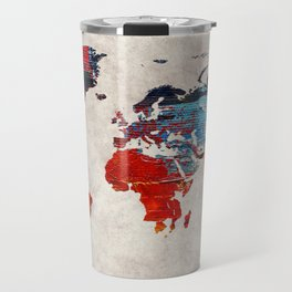World Map 60 Travel Mug