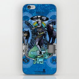"""Ars Tarot of the 12 Zodiac: """"Pisces - The Moon"""" iPhone Skin"""