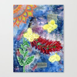 Blooming Presence Canvas Print