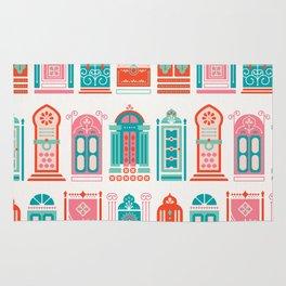 Moroccan Doors – Watermelon Palette Rug