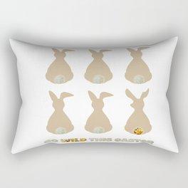 Go Wild This Easter Rectangular Pillow