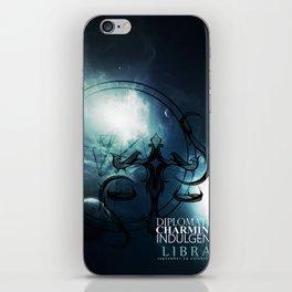 Libra-Diplomatic, Charming, Indulgent iPhone Skin