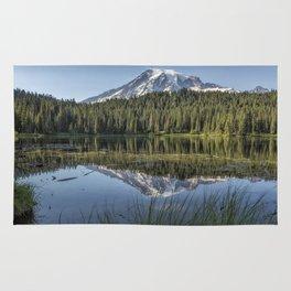 Reflecting a Mountain Rug