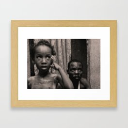 Lyrical Haiti 08 Framed Art Print