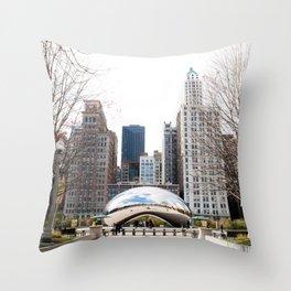 Chicago, 2014 Throw Pillow