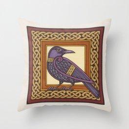 Cornix - Crow Throw Pillow