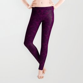 Stegosaurus Lace - Purple Leggings