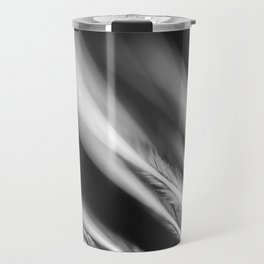 Extreme Macro image of tiny structures of a feather Travel Mug