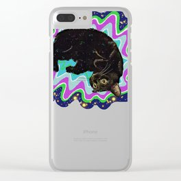 Cat-Nipped Clear iPhone Case