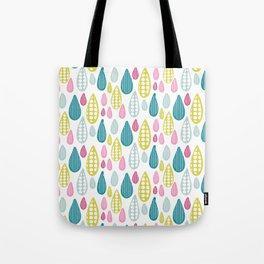 Summer Raindrops Tote Bag