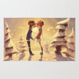 Winter romance Rug