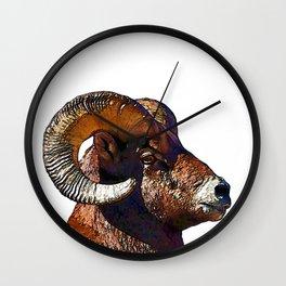 Ram Portrait Wall Clock