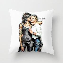 Fridget Throw Pillow