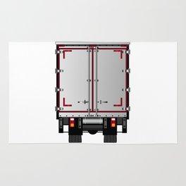 Lorry Rear Doors Rug