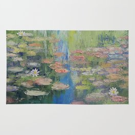 Water Lily Pond Rug