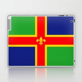 Lincolnshire region flag united kingdom great britain Laptop & iPad Skin