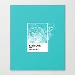 PANTONE SERIES – SPLASH Canvas Print