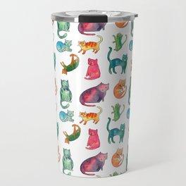 Rainbow Cats Travel Mug