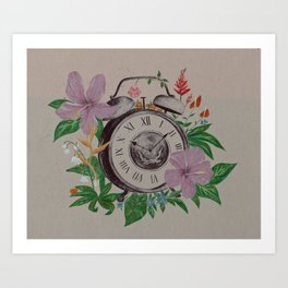 Flowers of Time Art Print