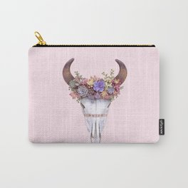 SUCCULENT SKULL Carry-All Pouch