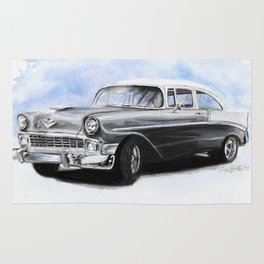 56 Chevy Rug