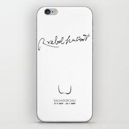 RREBOLHUCIONT iPhone Skin