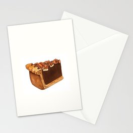 Pecan Pie Slice Stationery Cards