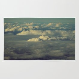 Clouds - HNL to GUM Rug