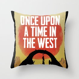 Once Upon a Time in the West - Hanging Throw Pillow