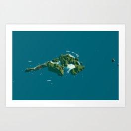 Phi Phi Island of Thailand Art Print