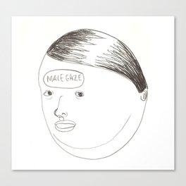 Male Gaze Canvas Print
