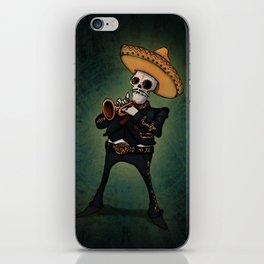 Mariachi trompetista iPhone Skin