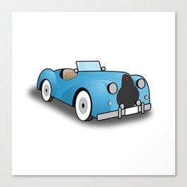 Alvis TB 14 Roadster Canvas Print