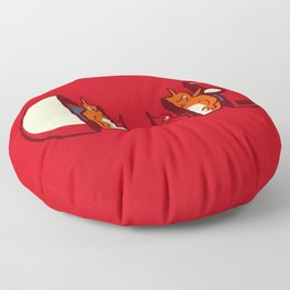 Poketryoshka - Fire Type Floor Pillow