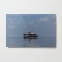 Travel by sea Metal Print