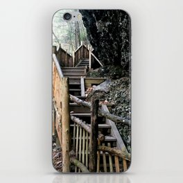 Stairway to the Mountain iPhone Skin