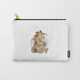 Negative Dragon light Carry-All Pouch