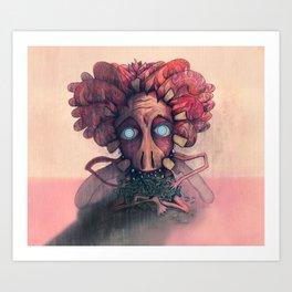 Evil Tooth Fairy Art Print
